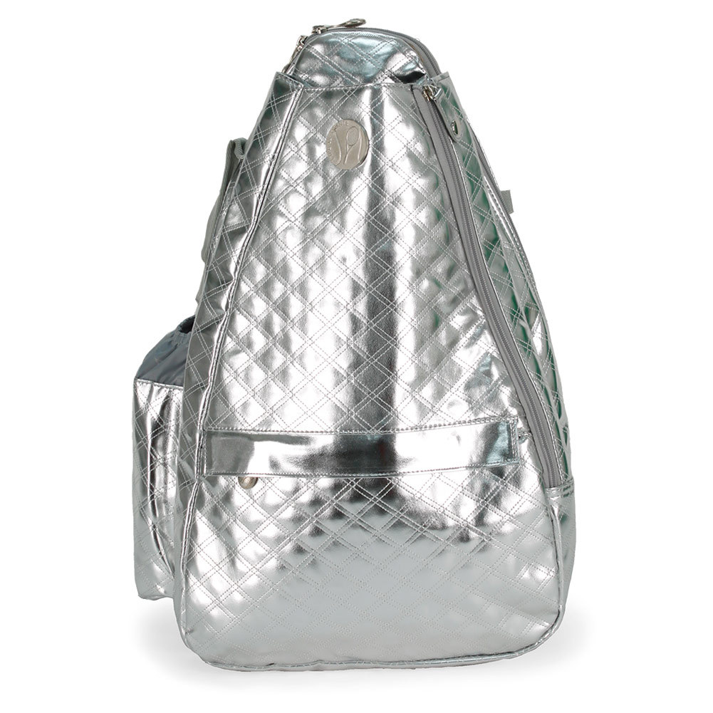 Ceaser Silver Small Sling Backpack