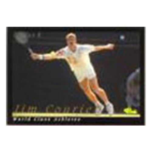 World Class Athletes Card Jim Courier