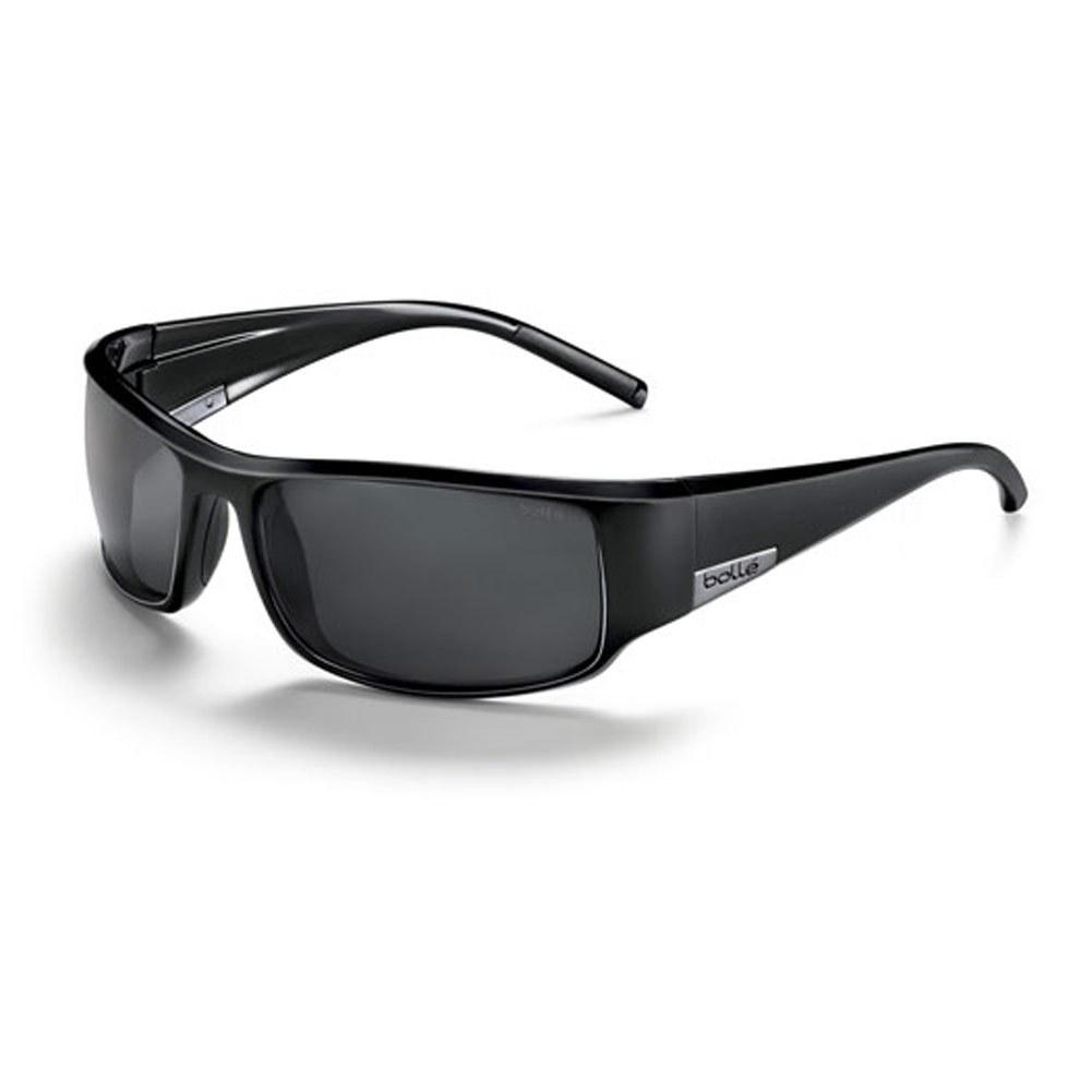 King Polarized Tns Sunglasses Shiny Black