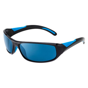 BOLLE SPEED POLARIZED SUNGLASSES SHINY BK/BL