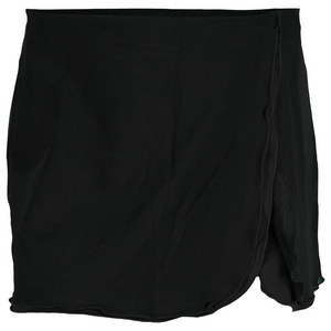 VICKIE BROWN WOMENS FLUTTER TENNIS SKORT BLACK