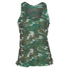 VICKIE BROWN Women`s Mesh Swing Tennis Tank Camo