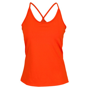 VICKIE BROWN WOMENS CAROL TENNIS TANK ORANGE