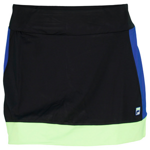 FILA WOMENS CENTER COURT TENNIS SKORT BLACK