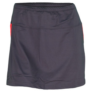 BOLLE WOMENS INFRARED TENNIS SKORT GRAY