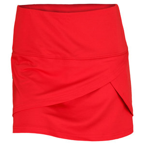BOLLE WOMENS INFRARED FRONT FLIP SKORT RED