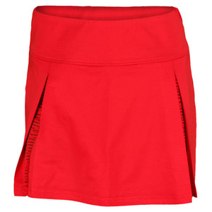 BOLLE WOMENS INFRARED TENNIS SKORT RED