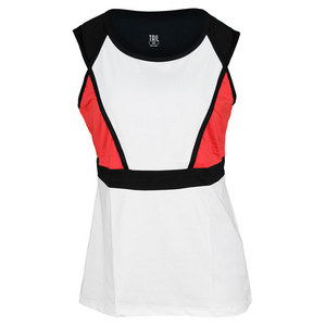 TAIL WOMENS TOPNOTCH CARLA TANK WHITE/RG