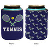 4 WOODEN SHOES Patterned Tennis Koozie
