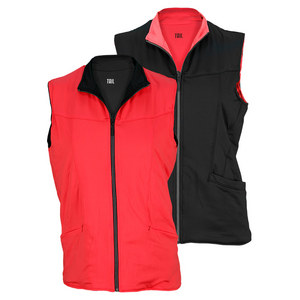 TAIL WOMENS TOPNOTCH CARLY REVERS VEST BK/RG