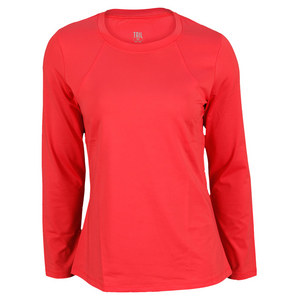 TAIL WOMENS TOPNOTCH DELANEY LS TOP ROUGE