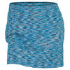 Women`s Hermosa Beach Space Dye Tennis Skort Blue by JOFIT