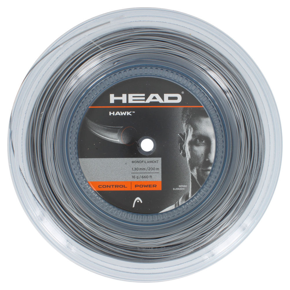 Hawk 16g Tennis String Reel Platinum