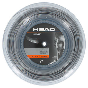 HEAD HAWK 17G TENNIS STRING REEL PLATINUM
