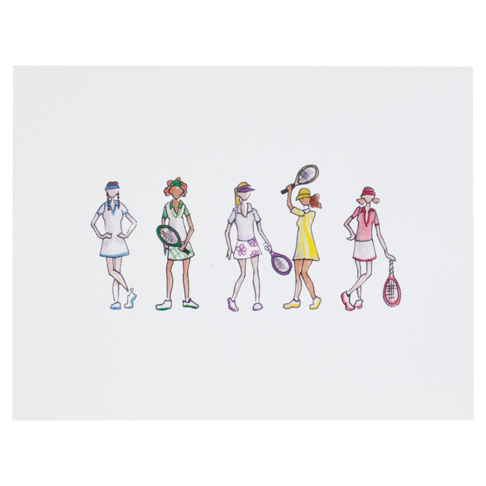 Tennis Note Cards 10 Pack