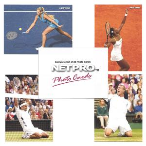 NETPRO Photo Edition Tennis Collector Card Set