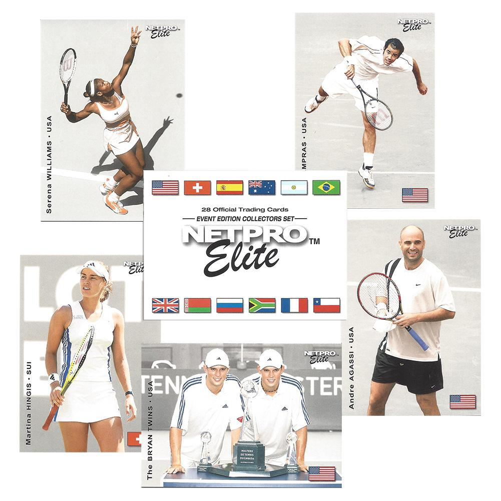 Elite Event Edition Tennis Card Set