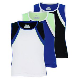 FILA GIRLS CENTER COURT SLEEVELESS TENNIS TOP