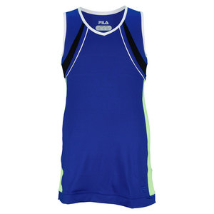 FILA GIRLS CENTER COURT TENNIS DRESS SAPPHIRE