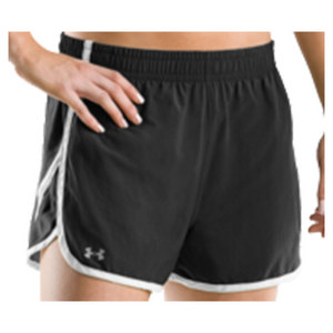 UNDER ARMOUR Women`s Escape 3 Inch Short Black