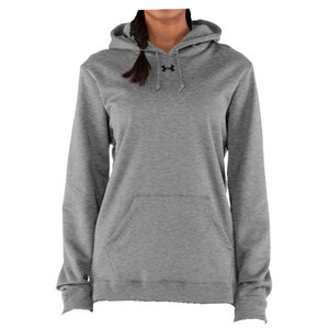 UNDER ARMOUR Women`s Fleece Hoody Black