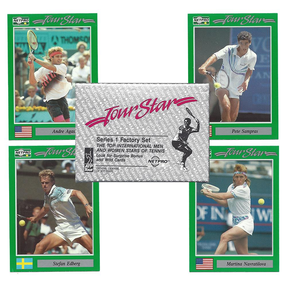 Tour Stars Tennis Card Set