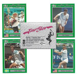 NETPRO Tour Stars Tennis Card Set