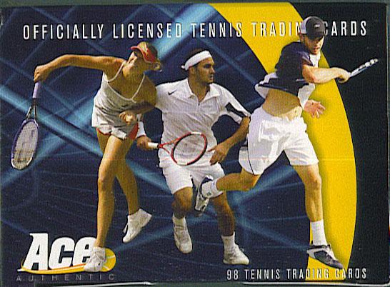 Debut Edition Tennis Card Set