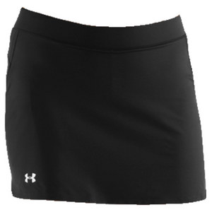 UNDER ARMOUR Women`s Team Skort Black