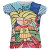 LUCKY IN LOVE Girls` She Pop Tennis Tee Print