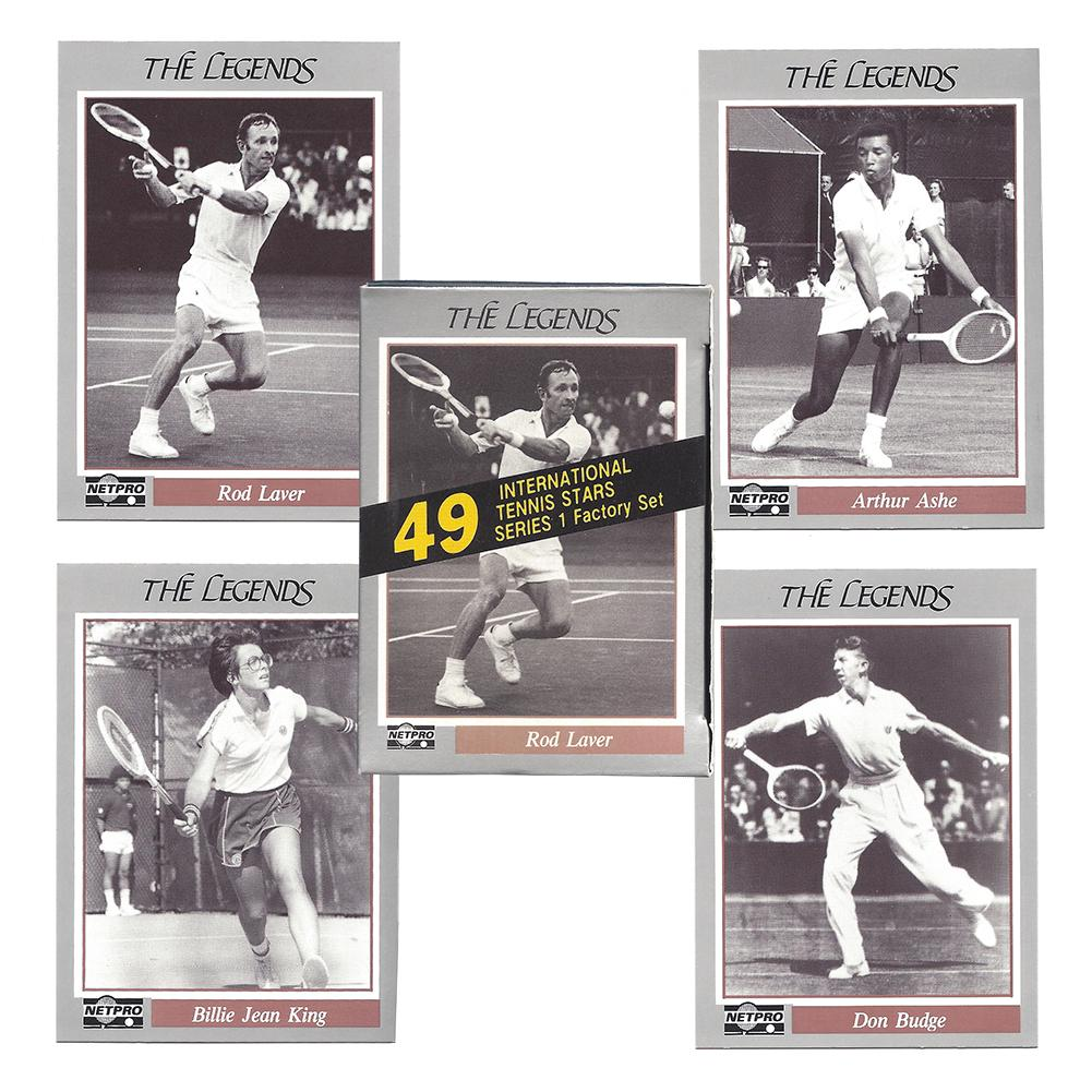 Legend Tennis Card Collection Set
