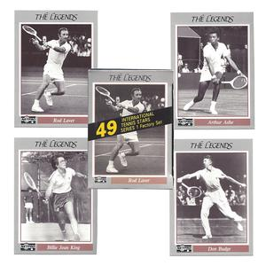 TENNIS EXPRESS Legend Tennis Card Collection Set