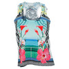 LUCKY IN LOVE Women`s Resort Tennis  Tank Multi