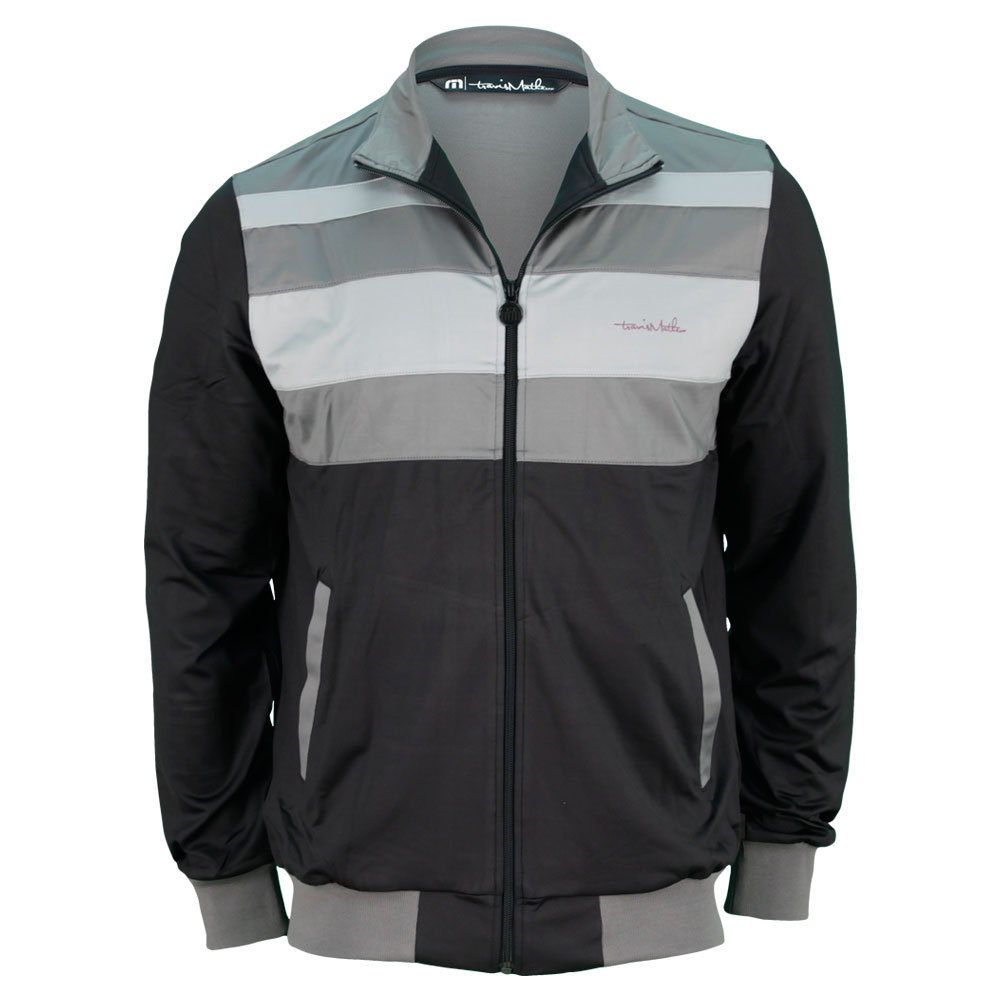Men's Jeffereys Tennis Jacket Black