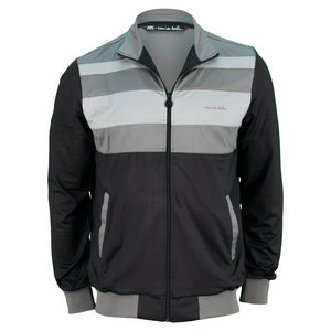 TRAVISMATHEW MENS JEFFEREYS TENNIS JACKET BLACK
