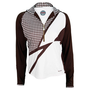 BOLLE WOMENS KAHLUA JACKET WHITE AND COCOA