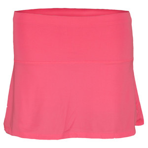 LUCKY IN LOVE GIRLS BACK PLEAT TENNIS SKIRT PINK