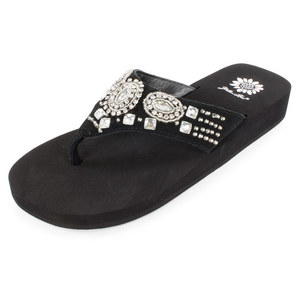 YELLOWBOX YELLOWBOX ADDISYN BLACK SANDALS