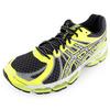 ASICS Mens Gel Nimbus 15 Lite Show Running Shoe Black and Flash Yellow