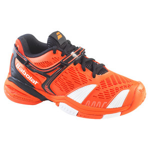 BABOLAT JUNIORS PROPULSE 4 TENNIS SHOES ORANGE