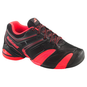 BABOLAT MENS V PRO 2 ALL COURT TENNIS SHOES RED