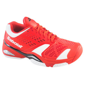 BABOLAT MENS SFX ALL COURT TENNIS SHOES RED
