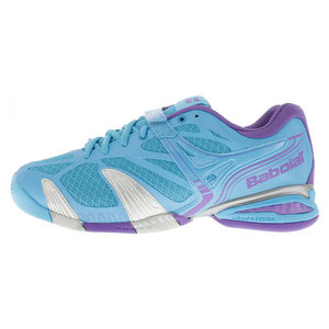 BABOLAT WOMENS PROPULSE 4 ALL COURT SHOES BLUE