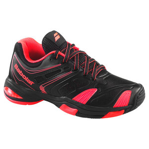 BABOLAT JUNIORS V PRO 2 TENNIS SHOES RED