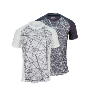 NIKE MENS ADVANTAGE UV GFX TENNIS CREW