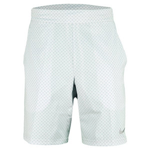 NIKE MENS GLADIATOR PREMIER 9 IN SHORT WHITE
