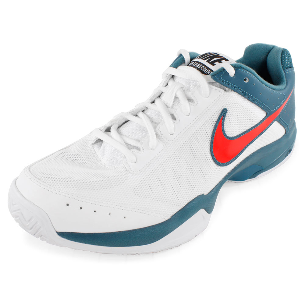 nike s air cage court shoes white and factor