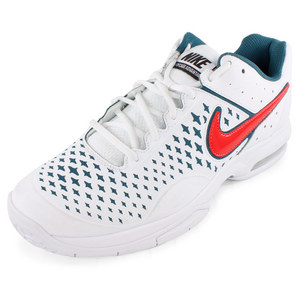 NIKE MENS AIR CAGE ADVANTAGE SHOES WH/NT FCTR