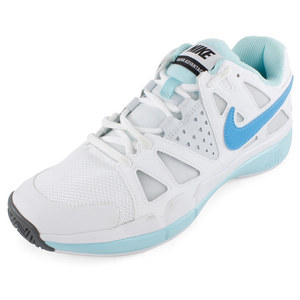 NIKE WOMENS AIR VAPOR ADVANT SHOES WH/GLAC IC