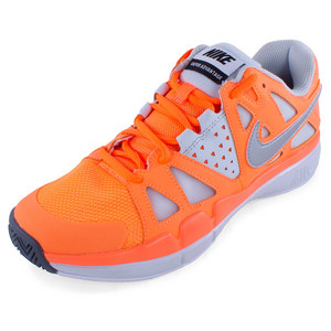 NIKE WOMENS AIR VAPOR ADVANT SHOES ORANGE
